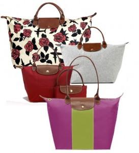 Les nouveaux sacs pliage Longchamp