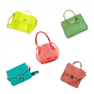 sacs colorés